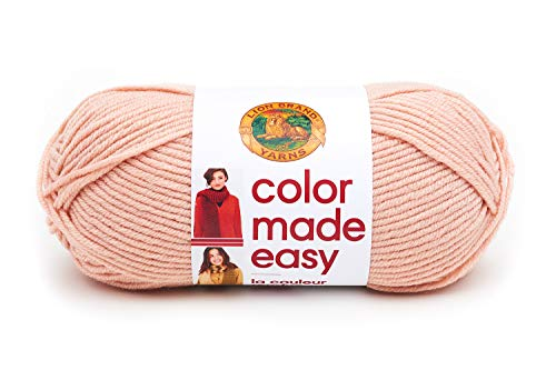 Lion Brand Yarn Color Made Easy Yarn, Millennial