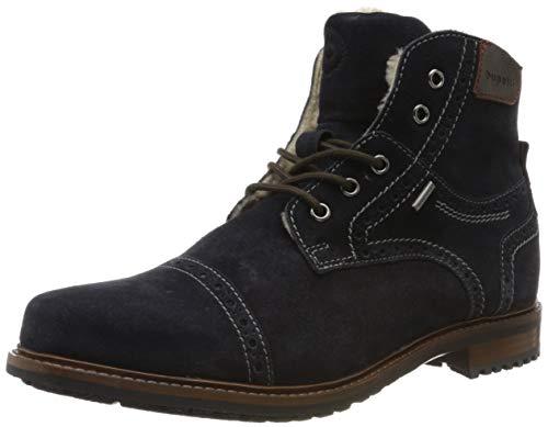 bugatti Herren 313205581400 Klassische Stiefel, Blau, 41 EU