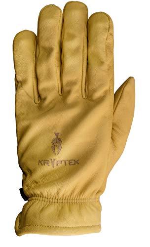 Kryptek Herren All Leather Ranch Glove Handschuhe, hautfarben, Large