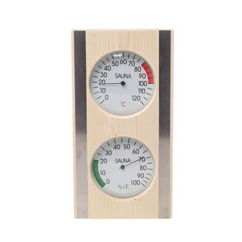 Generic Termómetro E Higrómetro para Sauna de 1 Pieza 2 en 1 Accesorios para El Hogar en Interiores Y Exteriores