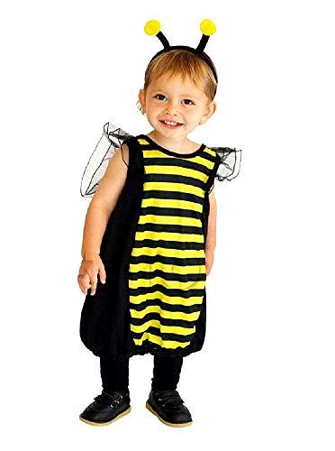 Disfraz de abeja maya - insecto - disfraces infantiles - halloween - carnaval - color multicolor - unisex - talla s - 3/4 años - idea de regalo original