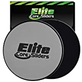 Elite Sportz Exercise Sliders are Double Sided and Work Smoothly on...
