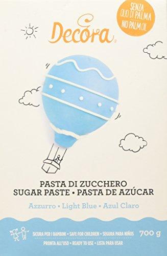 Decora 9310113 Pasta Di Zucchero Azzurra 700 G