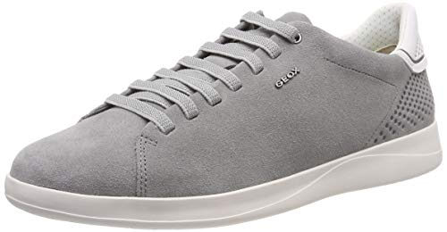 Geox Herren U KENNET B Sneaker, Grau (Stone C9007), 42 EU