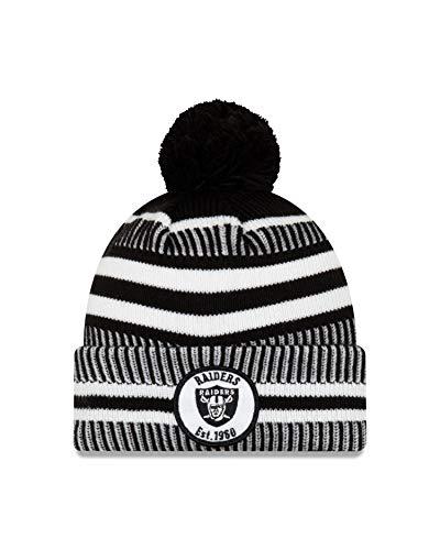 New Era New Era Oakland Raiders - Gorro de punto (talla única),...