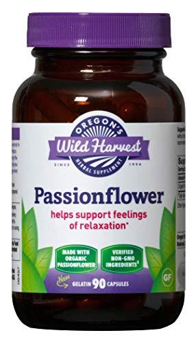 Oregon's Wild Harvest Passionflower Organic Capsules, 90 Count