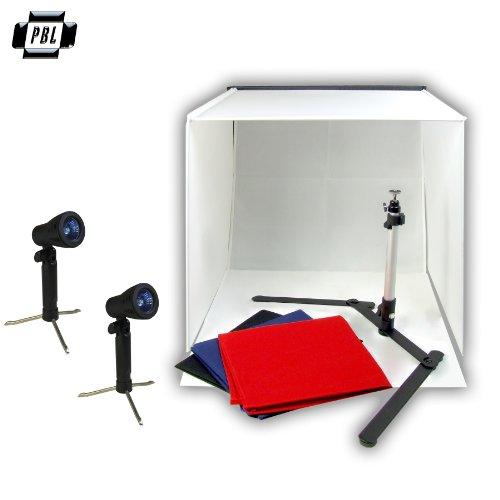 Idirectmart Photo Tent Table Top Studio Light Photography Soft Box Kit - Size 19.5-Inch Cube