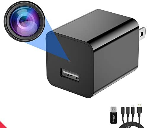 Spy Camera Charger,Masalmbo – Hidden Camera – HD 1080P – Best Spy Camera – USB Charger Camera – Hidden Spy Camera – Hidden Nanny Cam – Mini Spy Camera – Hidden Cam – Surveillance Camera Full HD