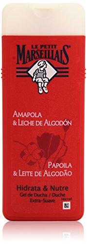 Le Petit Marsellais - Gel Amapola y Leche de Algodón, 400 ml