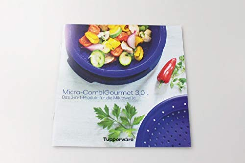 Tupperware MicroCombiGourmet 3,0 L Recetas Alemán