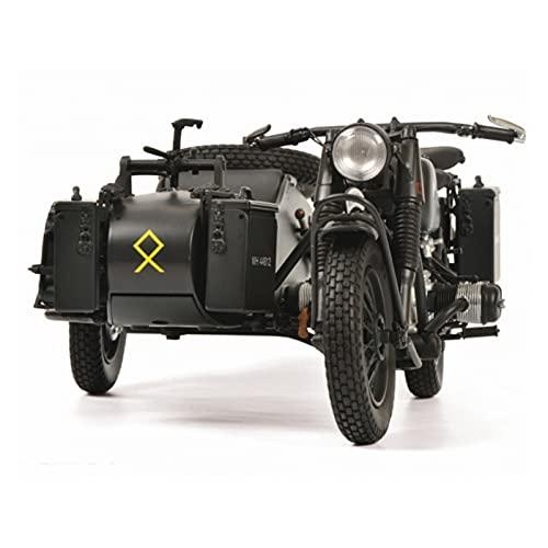 Boutique 1:10 Aleación De Simulación para BMW R75 Lado Modelo Motocicleta Tres Ruedas para Adultos Colección Regalos Alta Gama Coche De Juguete