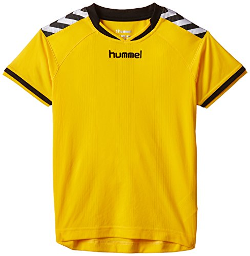 Hummel Kinder Trikot Stay Authentic Jersey, 03-554-5001, Sports Yellow,10-12 EU