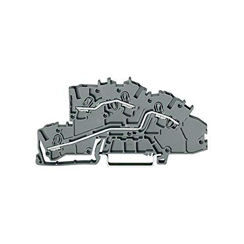 Wago Installations-Etagenklemme TS35, 2003-7642 (10 Stück Etagenklemme)
