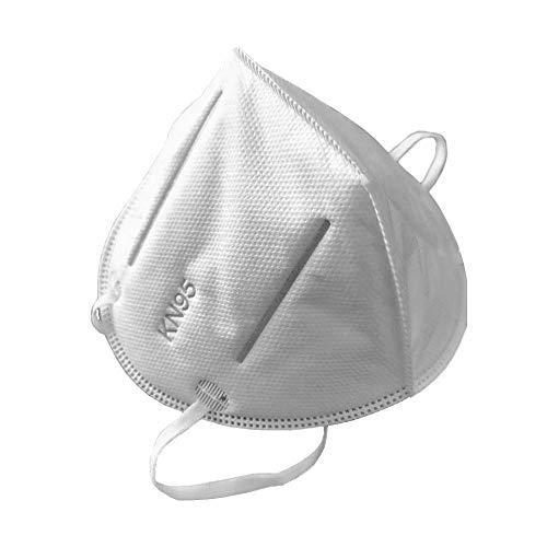 Maschera N 95, filtraggio superiore al 95% di particolato con valvola a strati FFP3 Maschera antinquinamento antipolvere Protezione unisex per esterno, Comfort, Antipolvere (40 pcs)