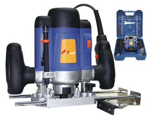 Toolscentre Blue Color Creative Wood Working 1600 Watt Electric Wood Router