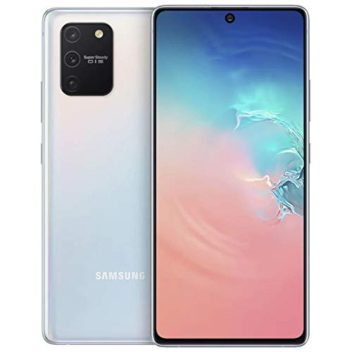 Samsung Galaxy S10 Lite G770F 128GB 6.7' Single SIM Triple Camera LTE Factory Unlocked Smartphone - International Version (Prism White)