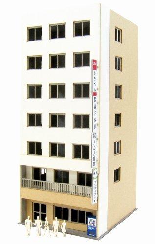 さんけい 1/220 みにちゅあーとプチ ビル-4 MP01-140 ペーパークラフト