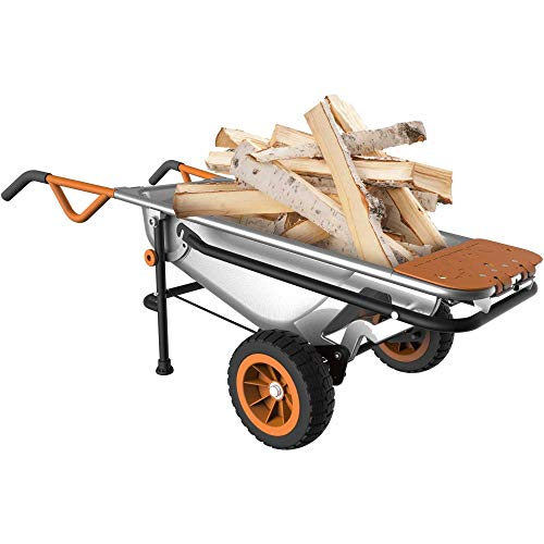 WORX Aerocart 8-in-1 Wheelbarrow/Yard Cart/Dolly