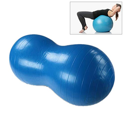 Yoga Tools Peanut Yoga Ball Verdickung explosionssicher Sport Gymnastikball Massageball (Pink), blau