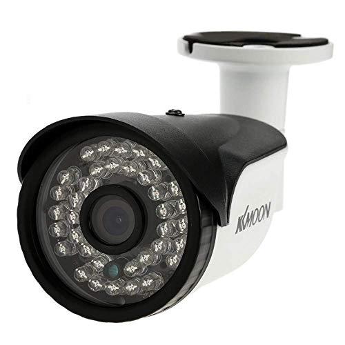 KKmoon Überwachungskamera 1,3MP 960P 3,6mm AHD CCTV Kamera 1/4Zoll CMOS 36LEDs, für Außenaufnahmen, IR Cut-Filter, Nachtsichtmodus, wasserdicht, PAL-System