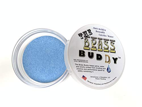 The Brass Buddy - The Best Buddy for Emptying your Brass Instrument Accessory (Blue) for Trumpet, Horn, Trombone, Euphonium, Baritone, Tuba