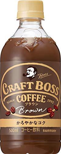 サントリー コーヒー クラフトボス ブラウン 500ml×24本