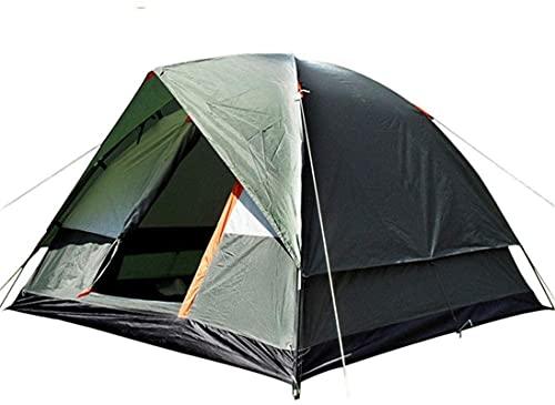 Ankon Portátil Camping Tienda de campaña al Aire Libre Tormenta a Prueba de tormenta Tienda de campaña 4 Persona Doble Cubierta Familia Camping Viajes Tienda para mochileros Pesca