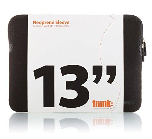 TRUNK TR-ALS13-BLK Hülle für MacBook 13 Zoll schwarz