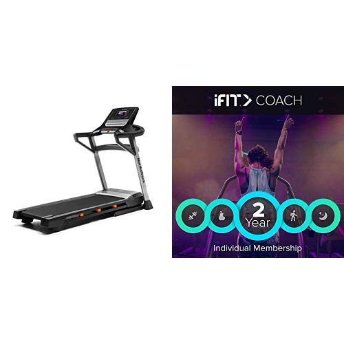 NordicTrack T 7.5 S Treadmill + iFIT 2-Year Individual Membership for iOS, Android, PC, and Mac [Online Code]