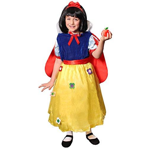 ILOVEFANCYDRESS Kinder Schneewittchen+BÖSE Hexe MÄRCHEN KOSTÜME Verkleidung =MÄRCHEN-Fasching -Karneval -BUCHWOCHE=PRINSESSIN-Kleid+Cape+Haarband = BÖSE Hexe -Kleid +Hut+Make up=PRINSESSIN -Medium