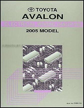 toyota avalon wire diagram 2005 toyota avalon factory electrical wiring diagram service  2005 toyota avalon factory electrical
