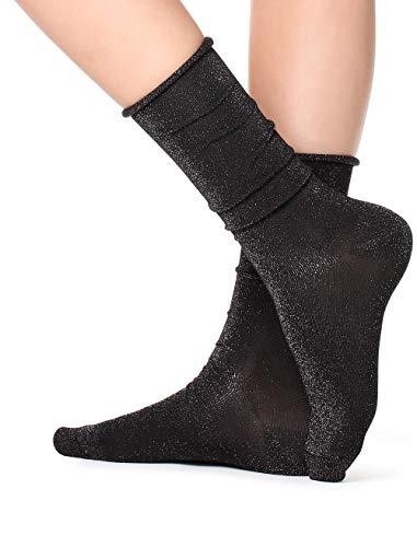 Calzedonia Damen Lange, gemusterte Socken
