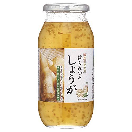 加藤美蜂園 サクラ印 はちみつ&しょうが 瓶810g