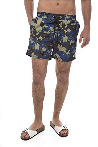 Kaporal RULL Short Homme Bleu (Blue Us) W34/L34 (Taille fabricant:X-Large)