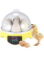 Chidi Toy ncubadora de Huevos, incubadora para Huevos automática, Iluminación de Alta eficiencia y función de Giro automático de Huevos, para Huevos, Huevos de Pato, Huevos de Fuego, etc. (35)