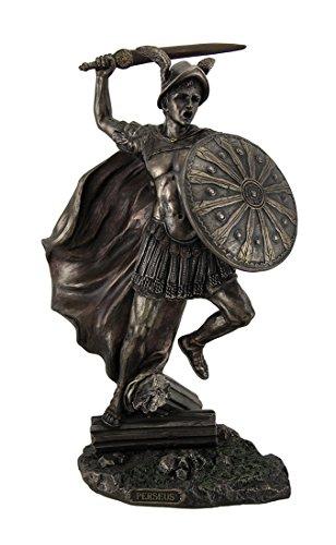 Veronese Design Perseus Greek Hero & Slayer of Monsters Highly Detailed Bronze Finish Statue