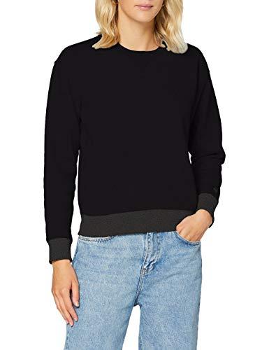 G-STAR RAW Damen Premium Core Sweatshirt, Dk Black C235-6484, XXL