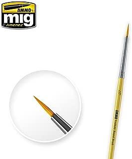 Ammo of Mig Jimenez Size 3/0 Synthetic Round Brush #8611