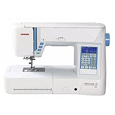 Janome Skyline S5 Sewing Machine with 170 Built-In Stitches