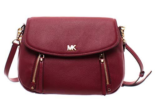 "100% Pebbled Leather; Gold-tone hardware Measures 11.5 x 9 x 2.5"" 8.5"" handle drop; 20.5-22"" strap drop Interior: Zip pocket, 4 slip pockets; Exterior: Snap pocket, zip pocket Snap Closure"