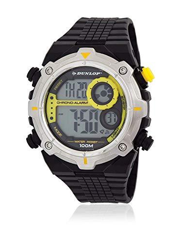 Dunlop Reloj Digital para Hombre de Cuarzo con Correa en Caucho DUN228G10