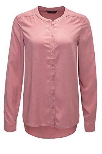 ONLY Damen Onlnew Fallow L/s Button Shirt WVN Noos Bluse, Rosa (Mesa Rose), (Herstellergröße: 34)