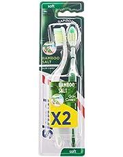 Signal Toothbrush Bamboo Salt X 2, Extra Soft
