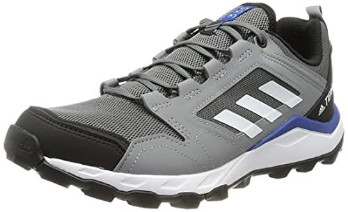 adidas Terrex Agravic TR, Zapatillas de Trail Running Hombre, Gricua/FTWBLA/Gritre, 46 EU