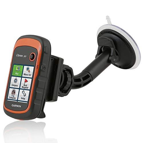 Wicked Chili KFZ Saugnapf Halterung kompatibel mit Navigationsgerät Garmin eTrex, Dakota, Oregon, Approach, Astro, GPSMAP (Made in Germany) schwarz