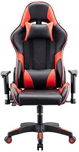 Shengluu Sillas De Oficina El Trabajo ergonómica Ejecutivo de la Conferencia Director de Respaldo Alto Ajustable giratoria Silla de tareas de inclinación E-Sports Red Chair 2020 Amazon