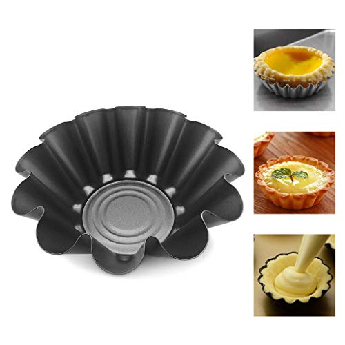 dedepeng Backform Muffinform 5.2 Zoll-Antihaft-Brioche Mold Hochtemperatur-Blume Backform Briosiu Mold Waffel Schüssel Maker Für Abendessen Salat 1pc