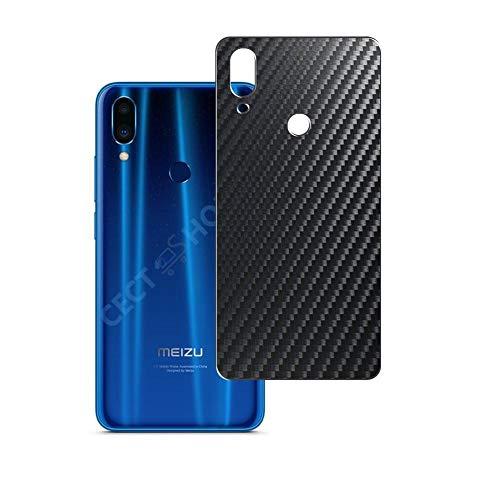 VacFun 2 Piezas Protector de pantalla Posterior, compatible con Meizu Note 9, Película de Trasera de Fibra de carbono negra