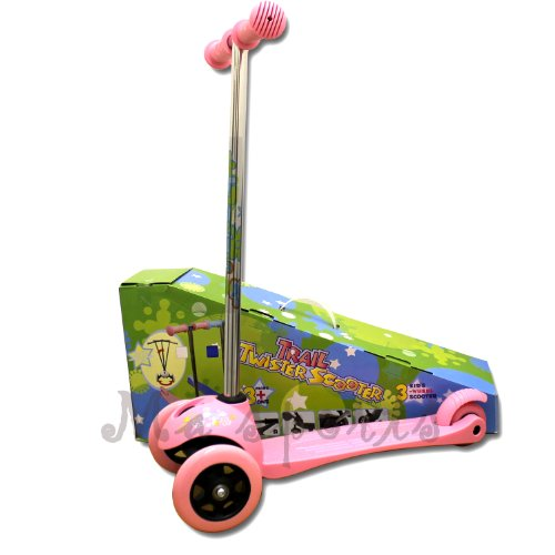 Trail Twister Kinder Dreirad Push Scooter Pink