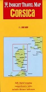 Corsica Insight Travel Map